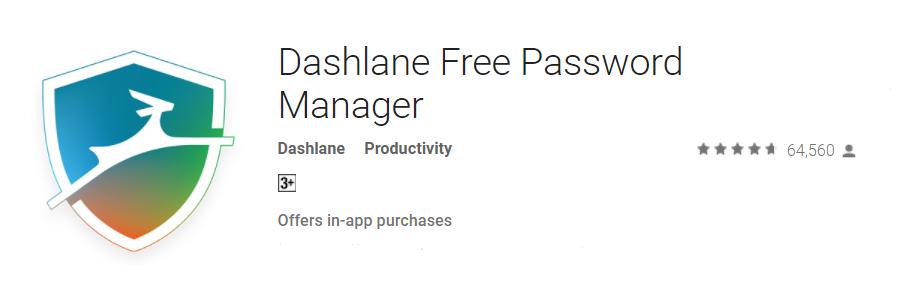 dashlane - autofill apps
